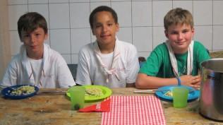 La sizine des Seeonee avec Sacha, Andrea et Victor